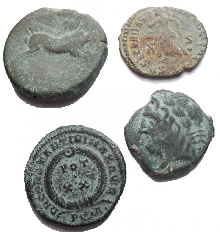 reverse: Lotti - Evo Antico. Insime di 4 pezzi in Ae