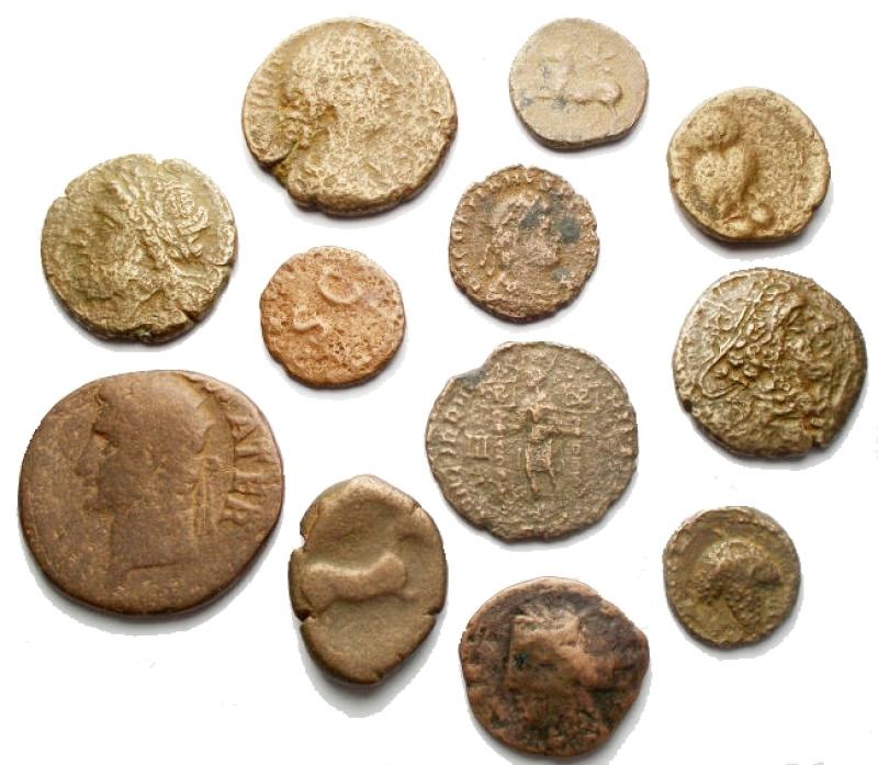 obverse: Lotti - Evo Antico. Insieme di 12 pezzi in Ae
