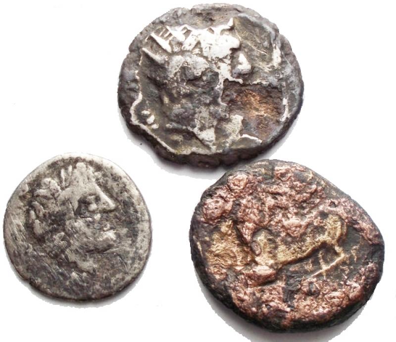 obverse: Lotti - Evo Antico. Insieme di 3 pezzi