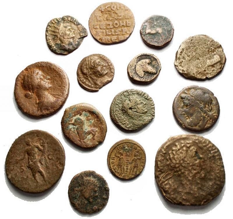 obverse: Lotti - Evo Antico. Insieme di 14 pezzi in Ae
