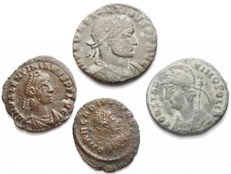 obverse: Lotti - Impero Romano. Insieme di 4 pezzi in Ae