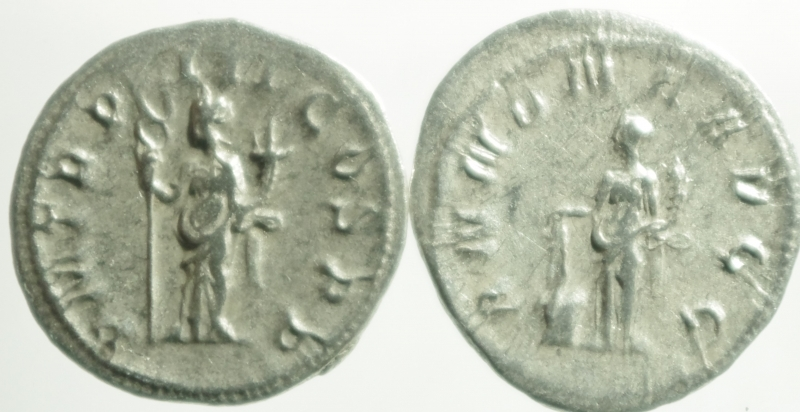 reverse: Lotti.Impero Romano.Lotto di 2 Antoniniani di Filippo I, mediamente BB.