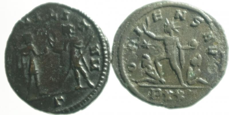 reverse: Lotti.Impero Romano.Lotto di 2 antoniniani di Aureliano, mediamente BB.