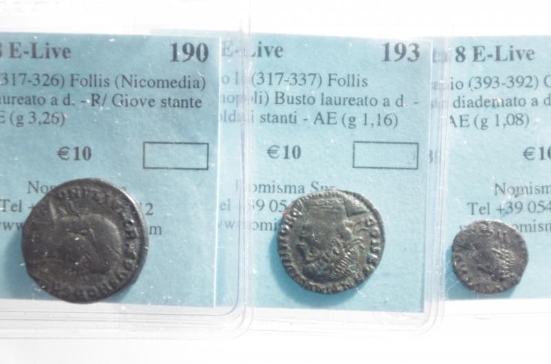 obverse: Lotti.Impero Romano.Lotto di 3 bronzetti provenienti da asta Nomisma 8 E live, mediamente BB