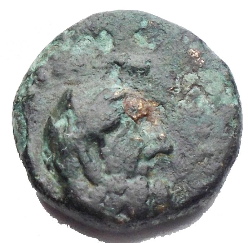 obverse:  Mondo Greco - Pisidia. Selge. 2 Sec aC. g 2,52. mm 13,07. BB++.