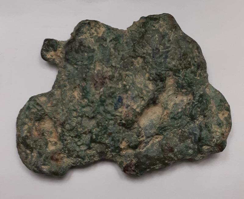 obverse: Repubblica Romana.Aes Grave.Frammento di 174 gr.Lunghezza 45 mm.ld