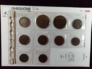 obverse: SAN MARINO - Lotto di 10 monete