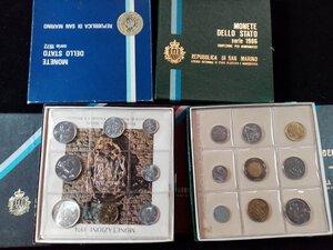 reverse: SAN MARINO - Lotto di 7 serie annuali