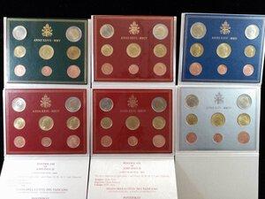 reverse: VATICANO - Lotto di    serie annuali dal 2002 al 2013