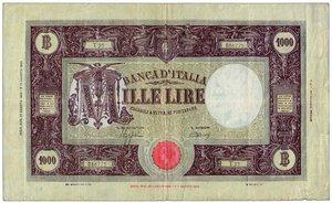 obverse: LUOGOTENENZA - 1000 Lire M grande 1° agosto 1944.