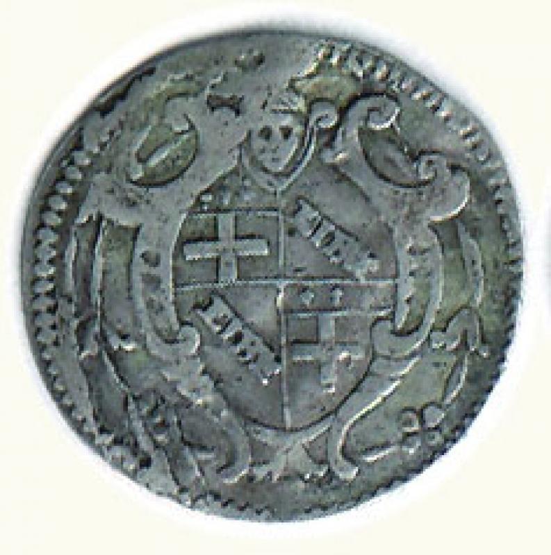 obverse: BOLOGNA - Benedetto XIV - 5 Bolognini