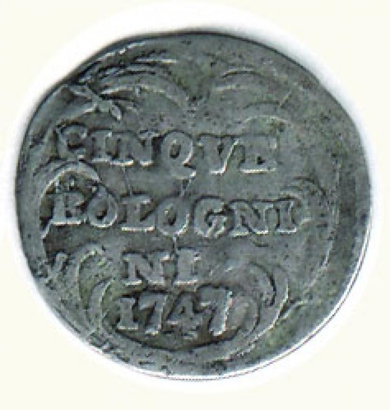 reverse: BOLOGNA - Benedetto XIV - 5 Bolognini