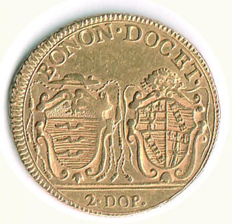 reverse: BOLOGNA - Pio VI - Quadrupla 1787