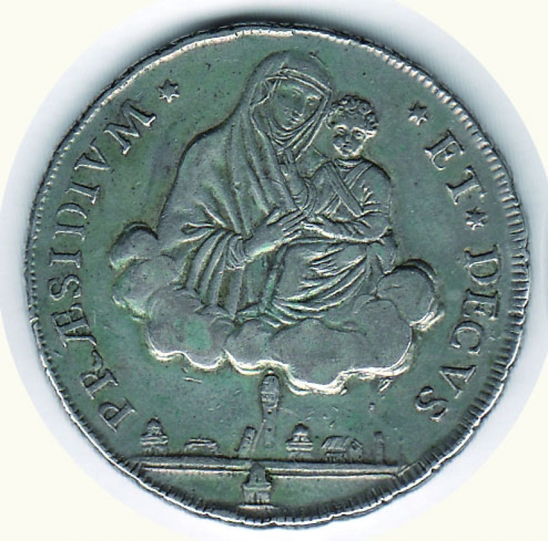 obverse: BOLOGNA - Governo Provvisorio - Scudo da 10 Paoli 1797