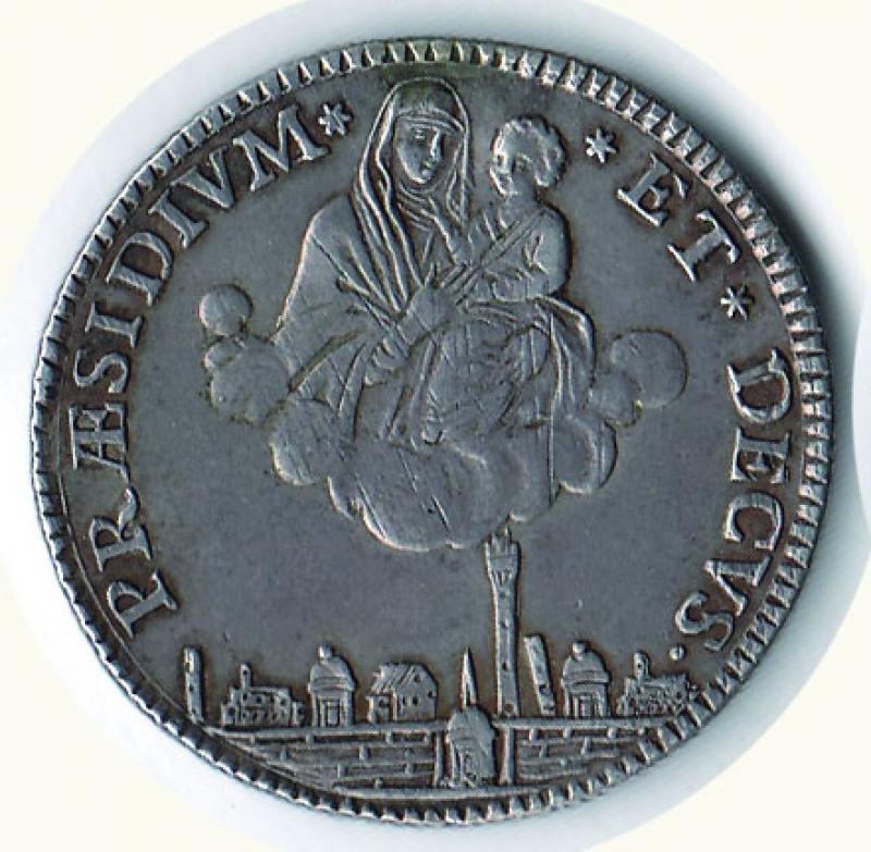 obverse: BOLOGNA - Governo provvisorio - 5 Paoli 1797.