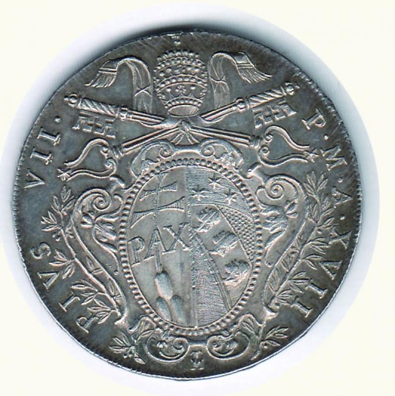 reverse: BOLOGNA - Pio VII (1800-1823) - Scudo 1816