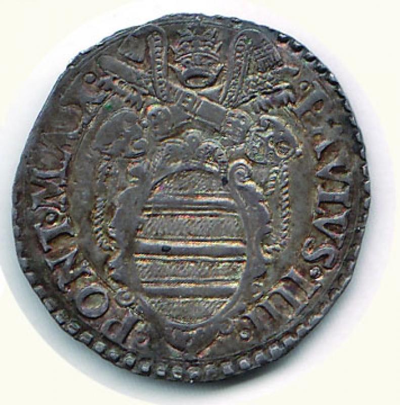 obverse: ANCONA - Polo IV - Giulio
