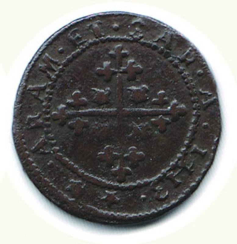 reverse: CAGLIARI - Carlo VI  (2° periodo 1712-1718) - 3 Cagliaresi