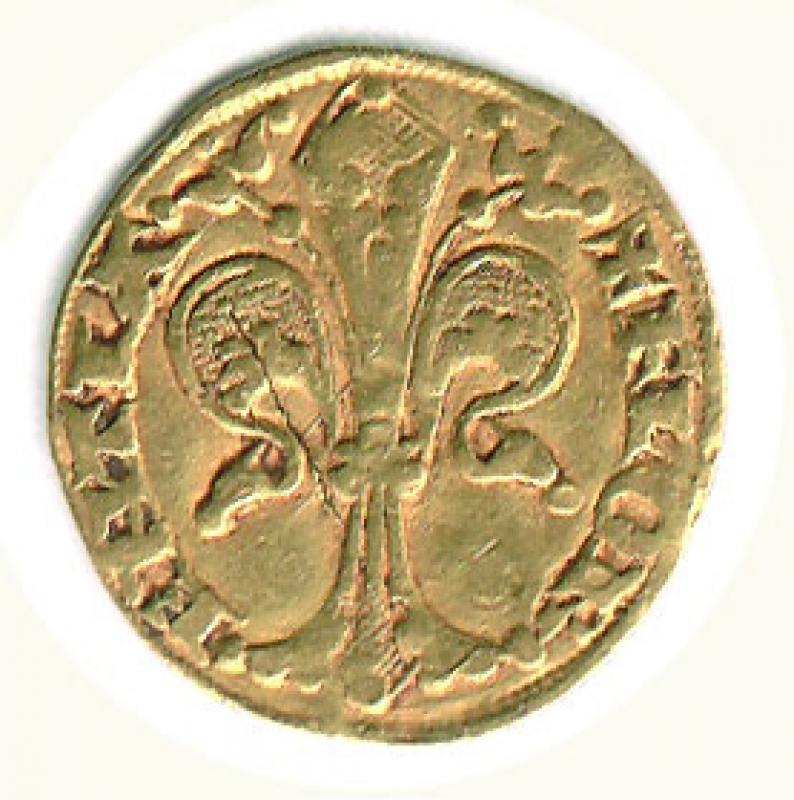 reverse: FIRENZE - Repubblica II semestre 1330 - Fiorino