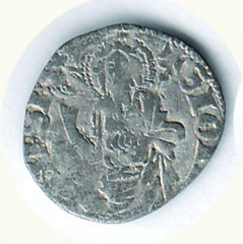obverse: FIRENZE - Repubblica - Quattrino II serie (1347-1362) - MIR 86.
