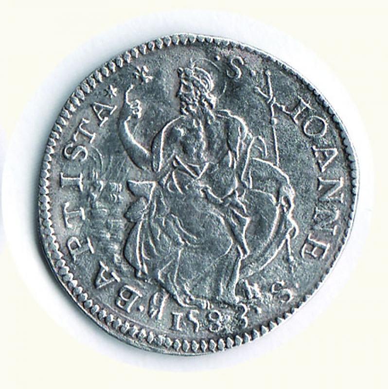 reverse: FIRENZE - Francesco I (1574-1587) - Testone V serie