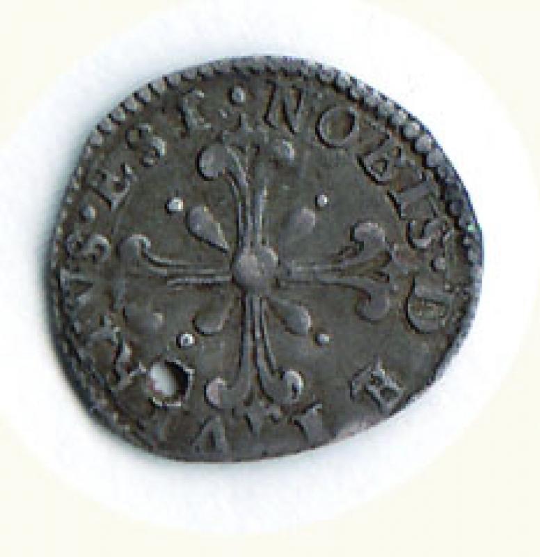 reverse: FIRENZE - Ferdinando I (1587-1608) - Quarto di Giulio sd. I serie