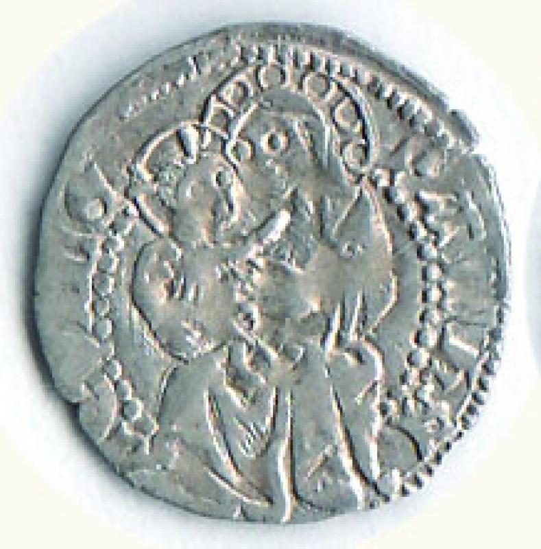 obverse: AQUILEIA - Ludovico II di Teck (1412-1420) - Soldo.