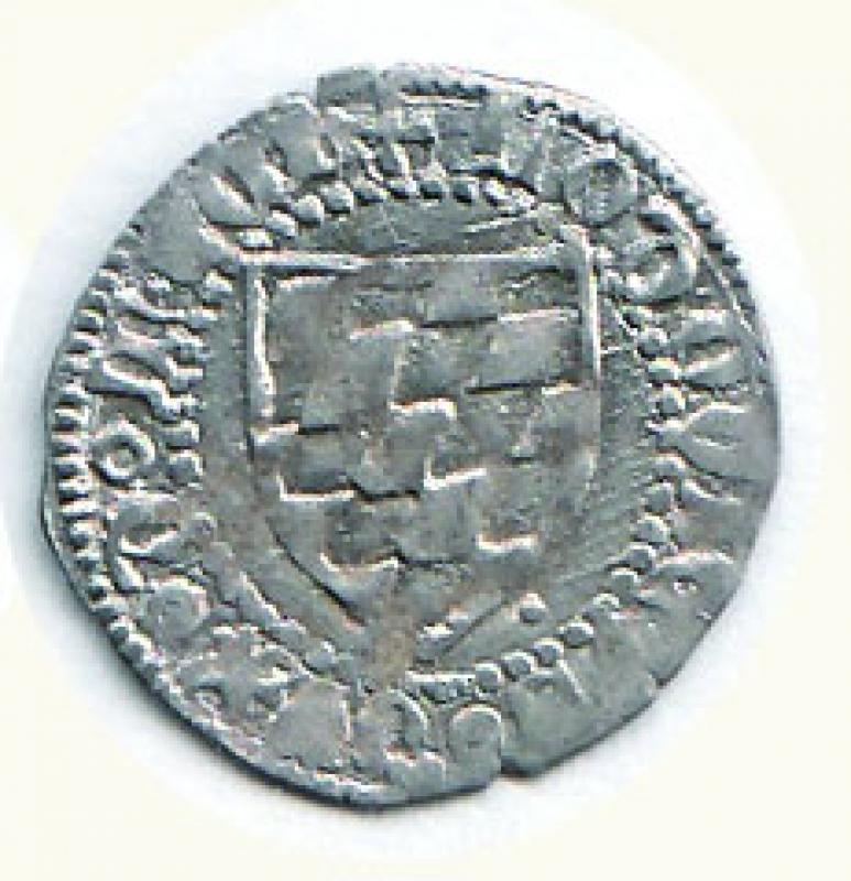 reverse: AQUILEIA - Ludovico II di Teck (1412-1420) - Soldo.