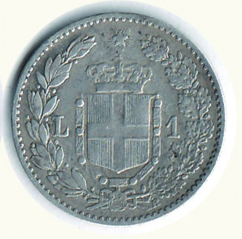 reverse: UMBERTO I - Lira 1892 - 31593 pezzi coniati