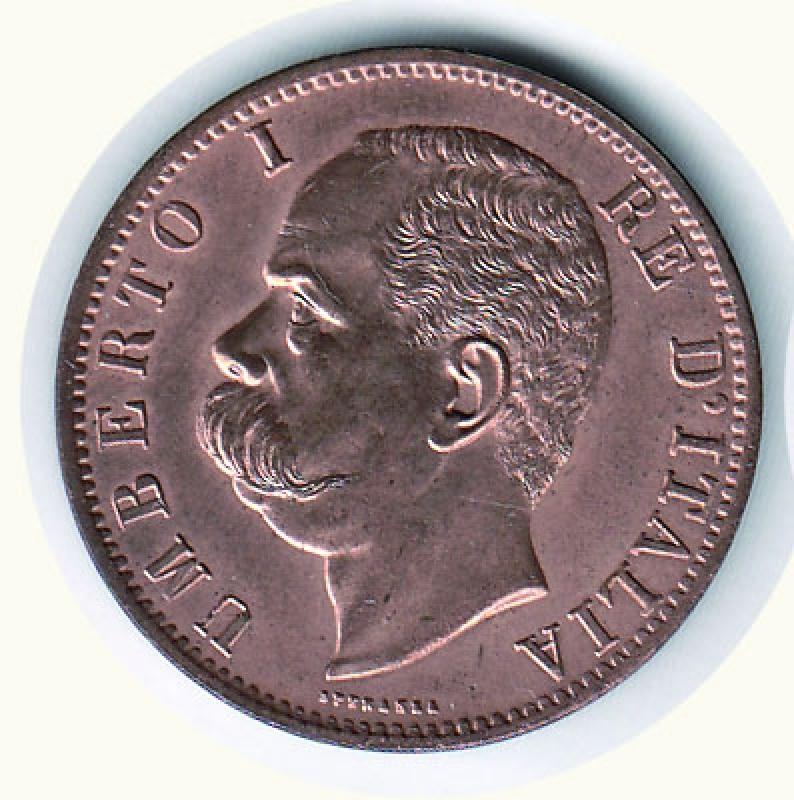 obverse: UMBERTO I - 10 Cent. 1894 - Zecca Birminghan.