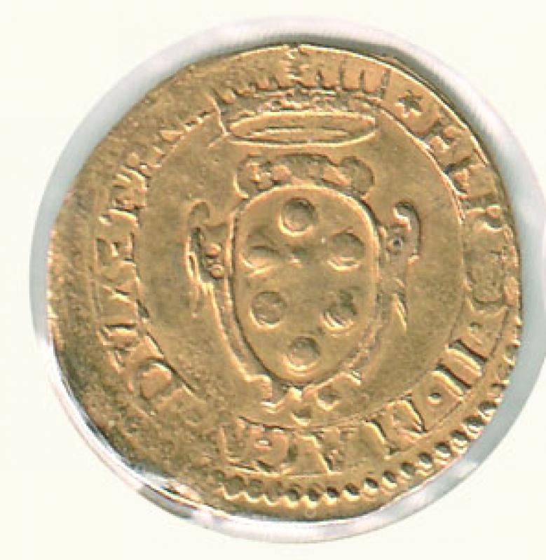 obverse: FIRENZE - Ferdinando II - Mezza Doppia