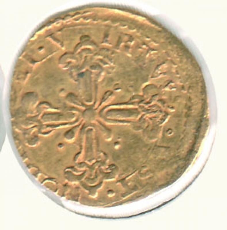 reverse: FIRENZE - Ferdinando II - Mezza Doppia