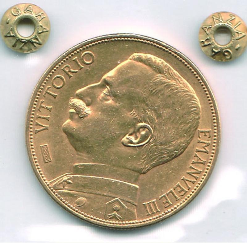 obverse: VITTORIO EMANUELE III - 100 Lire 1912