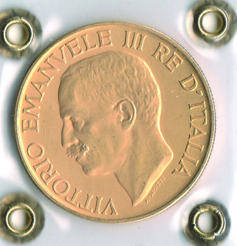 VITTORIO EMANUELE III -  100 Lire 1923 - Fascione