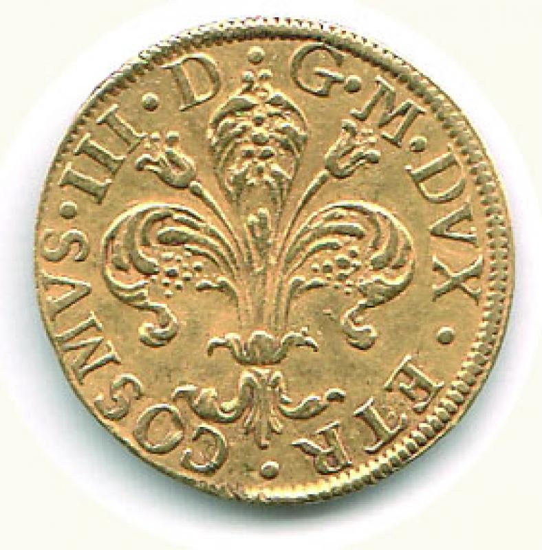 reverse: FIRENZE - Cosimo III (1670-1723) - Fiorino 1712