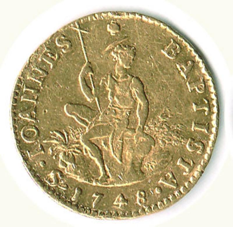 obverse: FIRENZE - Francesco I  di Lorena (1745-1765) - Ruspone 1748.