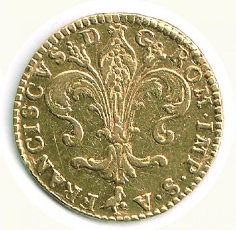 reverse: FIRENZE - Francesco I  di Lorena (1745-1765) - Ruspone 1748.