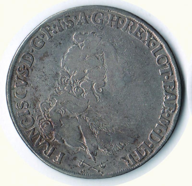 obverse: FIRENZE Francesco II - Francescone 1764