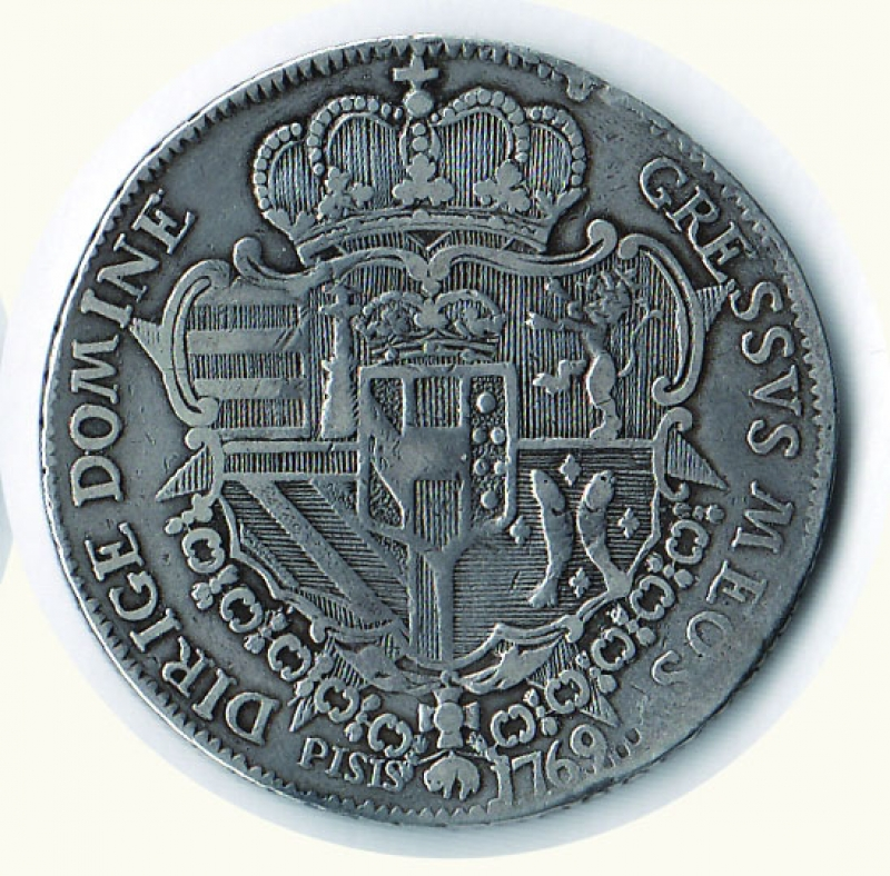 reverse: FIRENZE - Pietro Leopoldo - Francescone 1769
