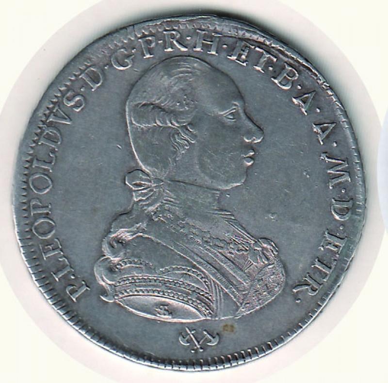 obverse: Firenze - Pietro Leopoldo (1765-1790) -  Francescone 1787