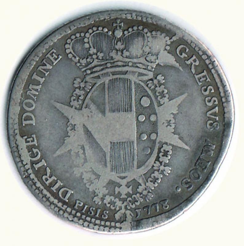 reverse: FIRENZE - P. Leopoldo - Mezzo Francescone 1778