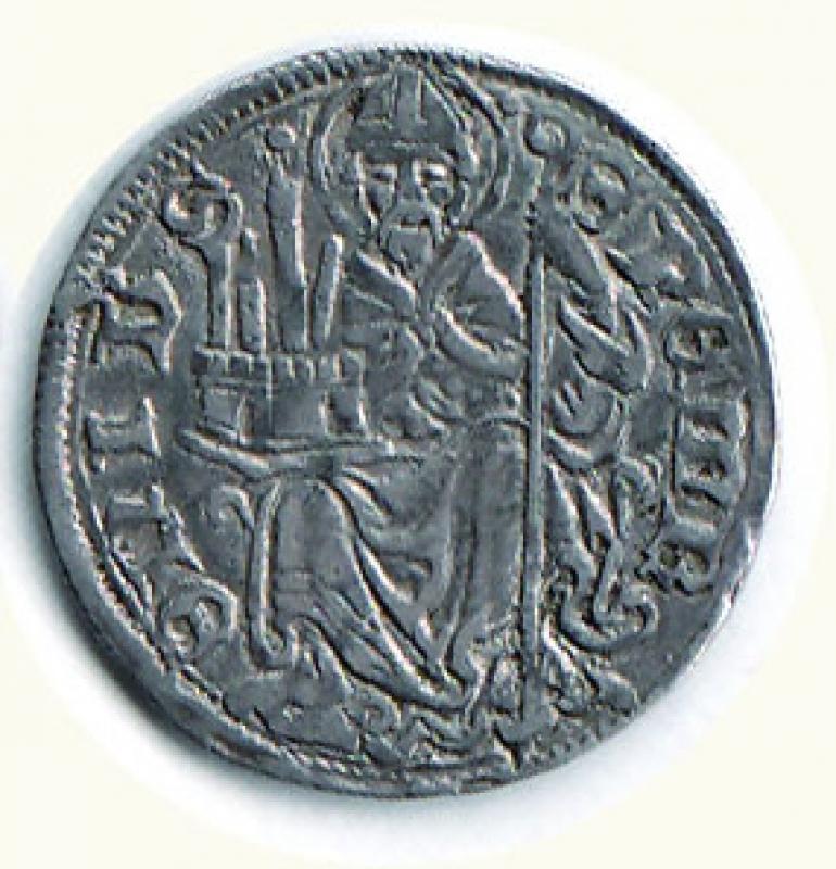 reverse: BOLOGNA - Repubblica( sec XV) Grosso