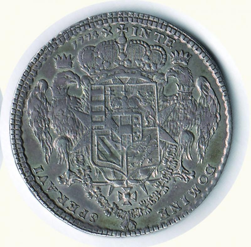 reverse: FIRENZE - Pietro Leopoldo - Tallero per il Levante