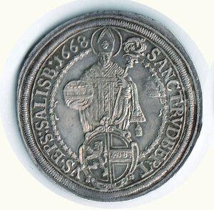 obverse: AUSTRIA - Salisburgo - Max Gandolph (1668-1687) - Tallero 1668