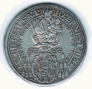 obverse: AUSTRIA - Salisburgo -  Johan Ernest di Thun Homenstein (1687-1709) - Tallero 1693.