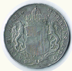 obverse: AUSTRIA - Maria Teresa - Tallero di convenzione 1766.