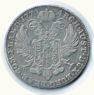 obverse: AUSTRIA - Maria Teresa - Kronenthaler 1770.