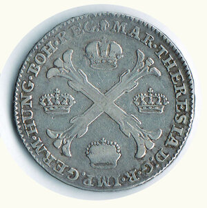 reverse: AUSTRIA - Maria Teresa - Kronenthaler 1770.