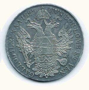 reverse: AUSTRIA - Francesco I - Tallero1823.