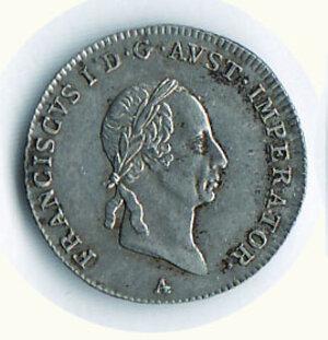 obverse: AUSTRIA - Francesco I (1815-1835) - 3 Kreuzer 1826